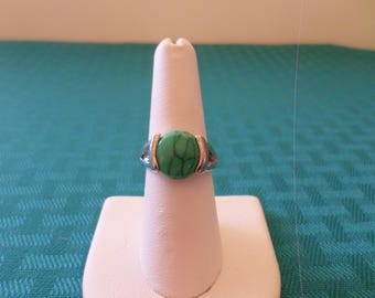 Turquoise Statement Ring, Turquoise Ring, Statement Ring, Turquoise Jewelry, Boho Turquoise Ring, Bold Statement Ring