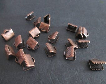10 tips crimp copper metal with 8x8mm