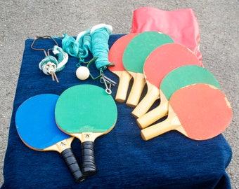 Vintage Table Tennis Set Ascot Ltd