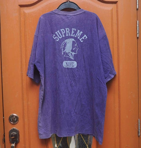 clearance stock vintage supreme shirt indian nyc