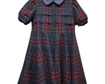 Opening Ceremony tartan dress