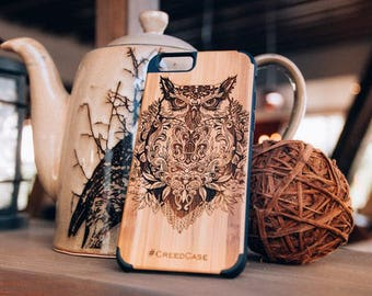 Owl - Wood Case