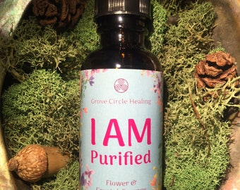 I am Purified Flower & Crystal Essence
