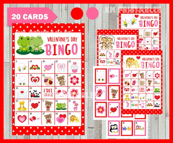 photo about Printable Valentine Bingo Cards referred to as Cars and trucks 2 Printable Valentine Playing cards