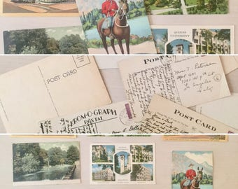 Vintage Postcard Lot #5 - Travel