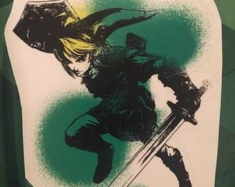Legend of Zelda Link Decal