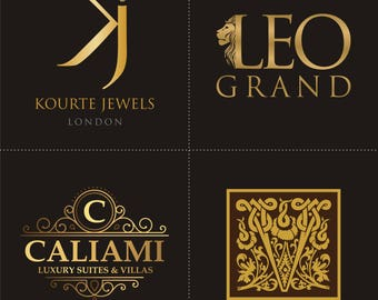 Logo Design Gold Package, Custom Logo Design, Unique Logo, Logo with Free Business Card, Unique Logo, Ooak Logo Design