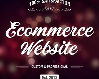 SALE Business Website, Online Store, Professional Website, Sell Online with fully functional website with Online Shop and Payment Setup