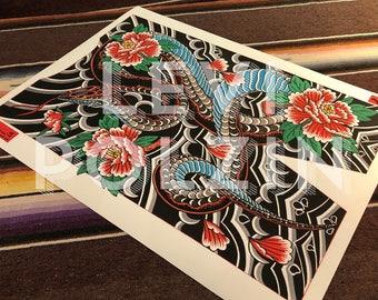 Levi Polzin - Snake print