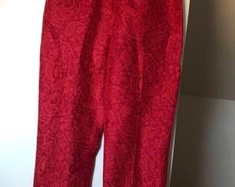 Ann Taylor silk trousers