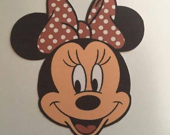 6 Minnie Mouse Die Cuts