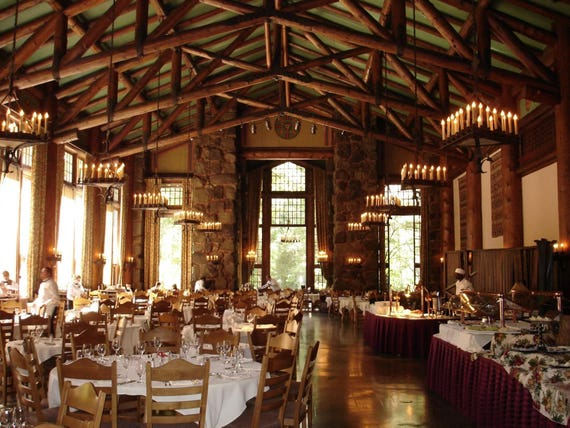 The Ahwahnee Dining Room In Yosemite 8x10 Photo Print Watch The Video  Supplement Or Read The