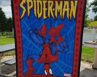 Marvel Spiderman Panel Quilt