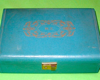 Vintage jewelry box USA made fashioned by Farrington