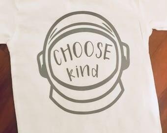 CHOOSE KIND kids tee // Choose Kind Childrens T-Shirt // Wonder // Kids Kind Shirt // Childrens Kind Tee
