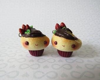 Bitten Jelly Cupcake Charms