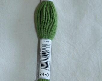 Green cotton yarn for canvas plied DMC 89 N 2470