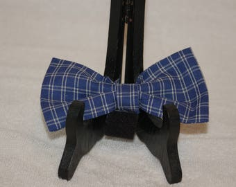 Plaid Dog Bow
