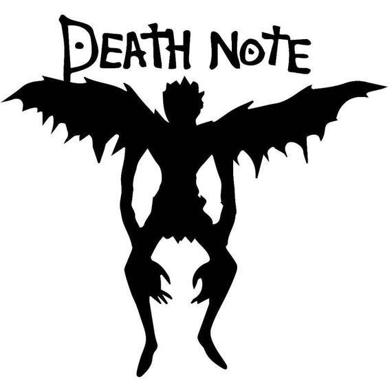 Death Note Shinigami SVG Cut File Download Cricut