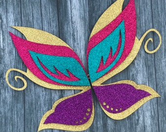 Fairy Wings Cake Topper, Fairy Party, Birthday Party, Fairy Party Decor