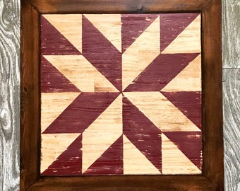 """Barn Quilt Squares 12""""x12"""""""