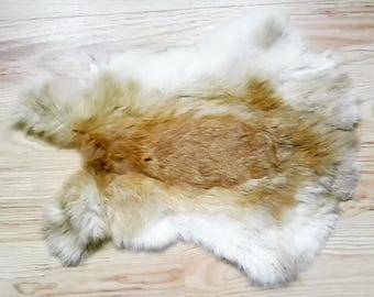 Rabbit Pelt - sewing tribal crafts medicne bags altar totem fur clothesmaking viking pagan shaman druid witch animism
