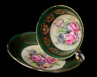 Rare EB Foley Bone China Teacup and Saucer