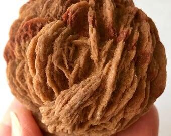 Selenite, Desert ROSE PETALS! Sand Rose, Morocco Rocks, Minerals and Crystals / 165g
