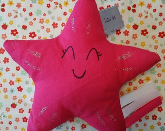 "Star is handmade with love ""flower power"""