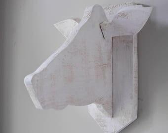 Handmade decorative cow head
