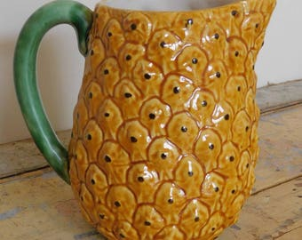 Kitsch Retro Pineapple Jug