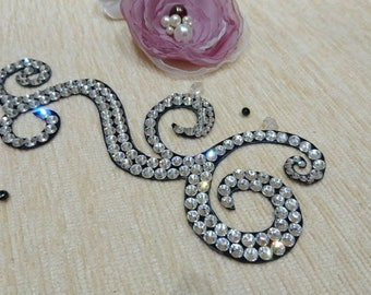 Hair accessories - Dance Competition - Glasses Rhinestones