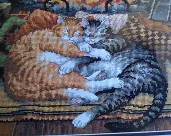 New Dimensions Cross Stitch Kit - All Burned Out