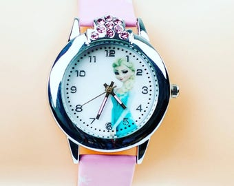 Frozen Watch | Kids Watches | Elsa | Girls| Gift's For Kids| Son | Daughter FREE SHIPPING