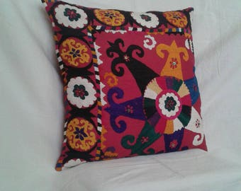 50x50cm Uzbek Traditional Suzani Pillow Cases,Old Embroidery Suzani Cushion