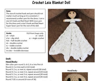 Pattern for Crochet Leia Blanket