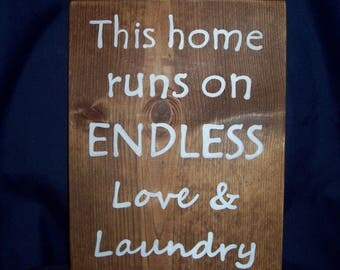 This home runs on endless love and laundry
