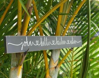 CUSTOM name | custom family tree | custom name sign | name plaque | name sign | wedding | family sign | family name sign
