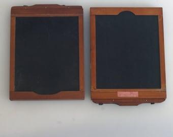 Wooden Film Holders 4X5 Wooden Set Of 2