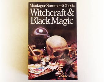 Montague Summers - Witchcraft & Black Magic - Arrow horror occult vintage paperback book - 1974