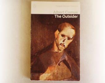Albert Camus - The Outsider - Penguin vintage paperback book - 1973