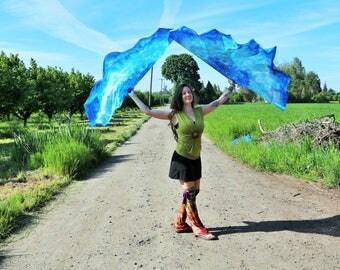 Blue Fairy Flags