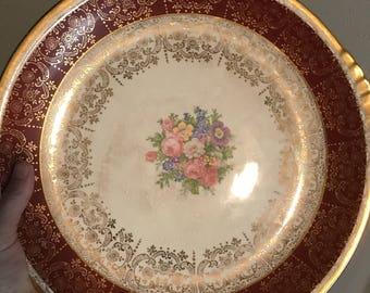 "13"" antique platter"