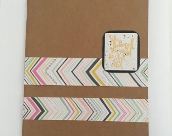 Decorated Notebook - So She Did (N12)