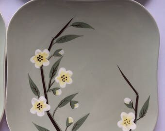 Weil Ware Blossom 4 Dinner Plates
