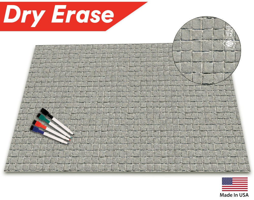 Battle Game Mat Grid 36 X 24 Table Top Role