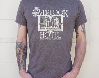 Men High Quality Silk Overlook Hotel T-Shirts Shipped Daily all sizes high quality