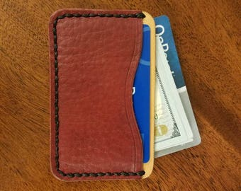 Card wallet, card case, wallet, leather wallet, minimalist wallet