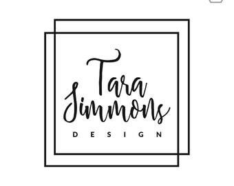 Logo Design Branding / Interior Design Logo / Realtor Logo / Realtor Marketing / Real Estate Logo / Real Estate Marketing / Home Staging