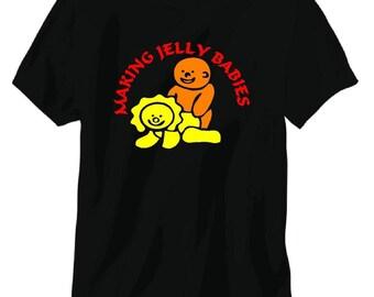 making jelly babies tee shirt